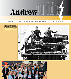 Andrew Pride newsletter cover