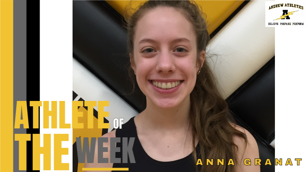 Anna Granat - Girls Track & Field / Athlete of the Week of March 2, 2020
