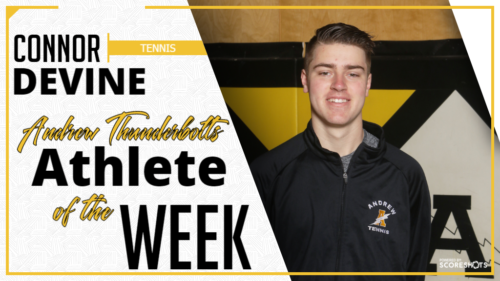 Connor Devine Athlete of the Week of April 15th