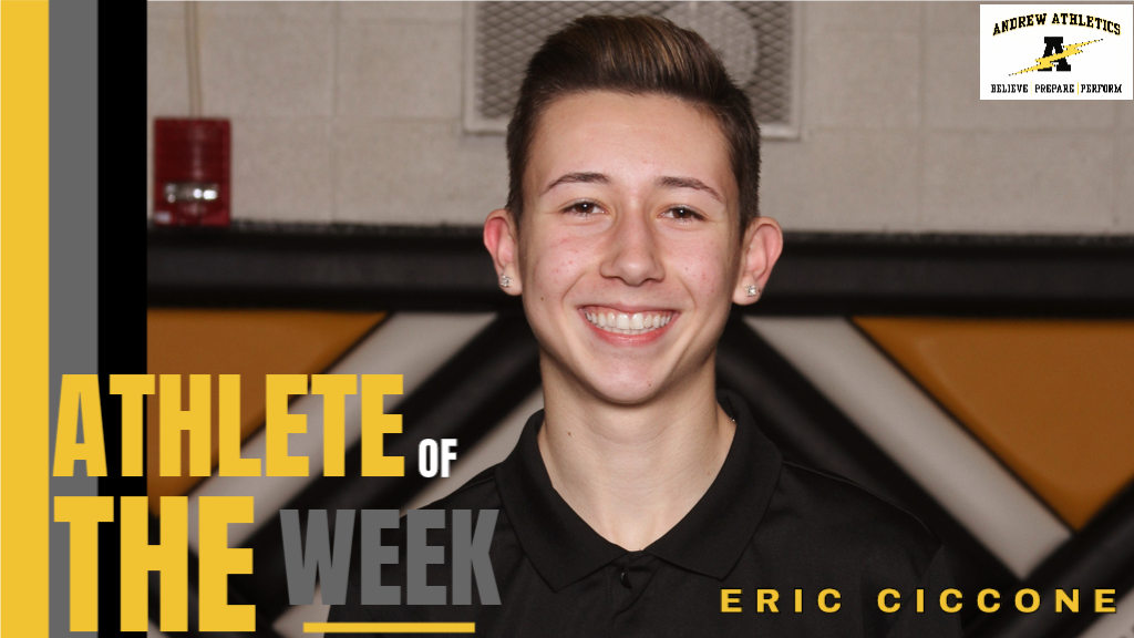 Eric Ciccone Athlete of the Week - December 9