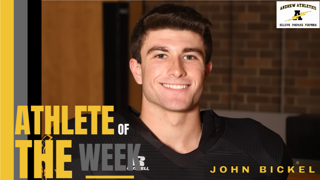 Athlete of the Month - February 2019, is John Bickel for Track & Field