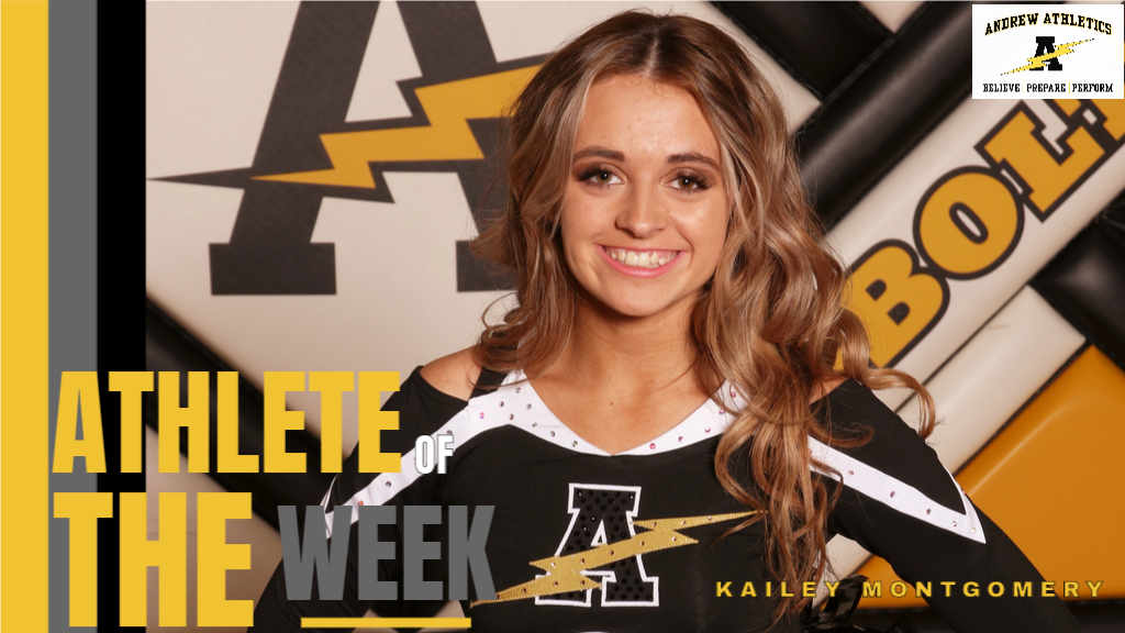 Kailey Montgomery - Dance / Athlete of the Week of February 3, 2020