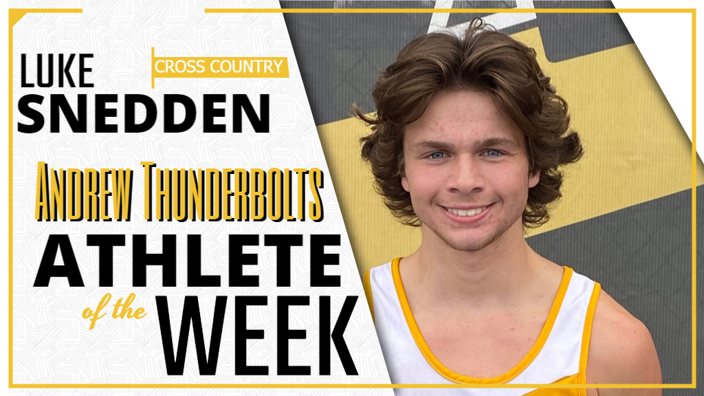 Athlete of the Week of November 9, 2020