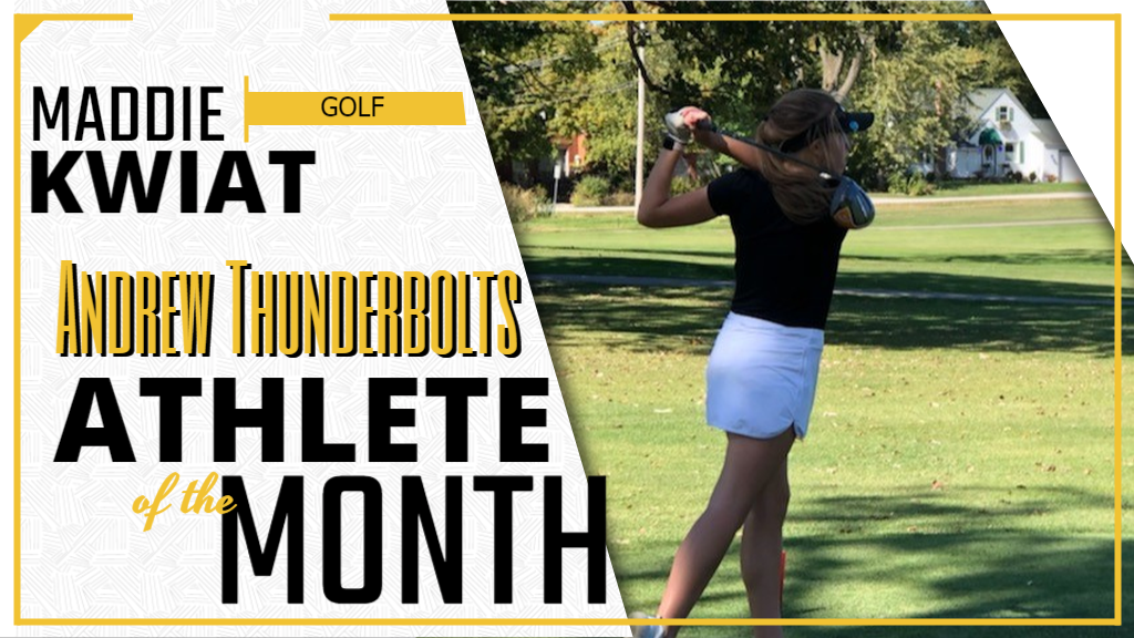Maddie Kwiat - Golf / Athlete of the Month of September, 2020