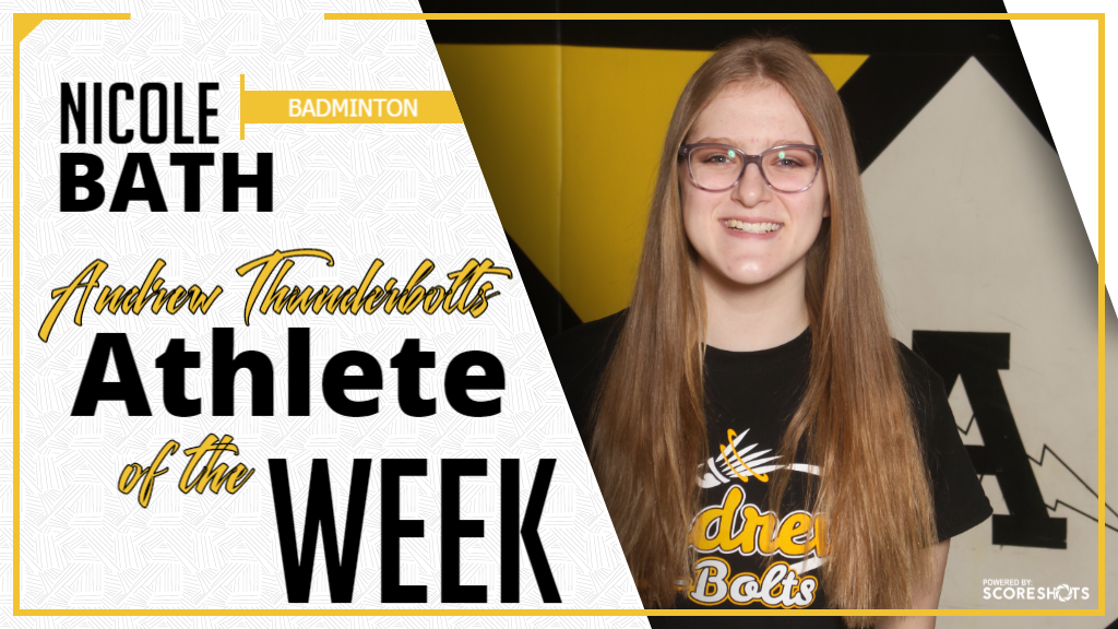 Athlete of the Week of April 22, 2019 - Nicole Bath
