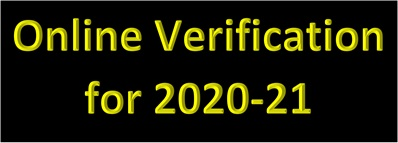 Schedule Release-Online Verification 2020-21