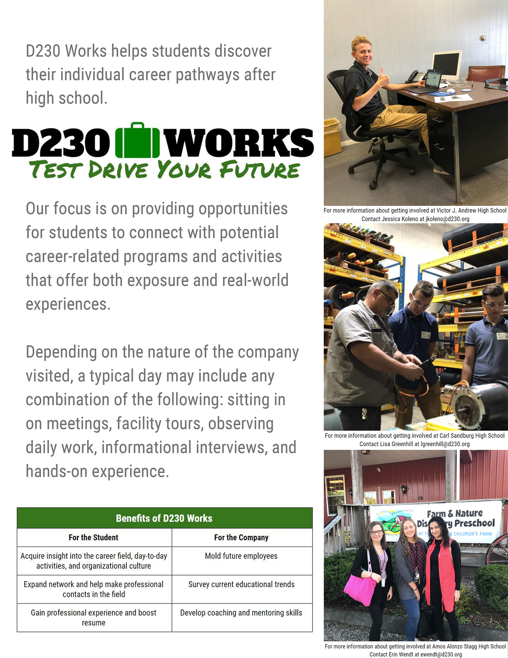 Benefits of D230Works