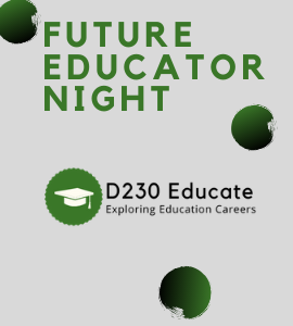 Future Educator Night Dec 3