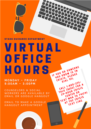 Guidance Virtual Office Hours