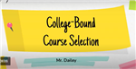 College Bound Course Selection