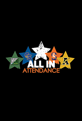 ALL IN Attendance logo