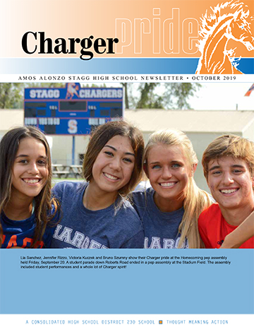 Stagg newsletter cover