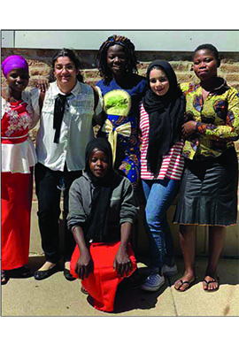 French Circle helps educate girls in West Africa